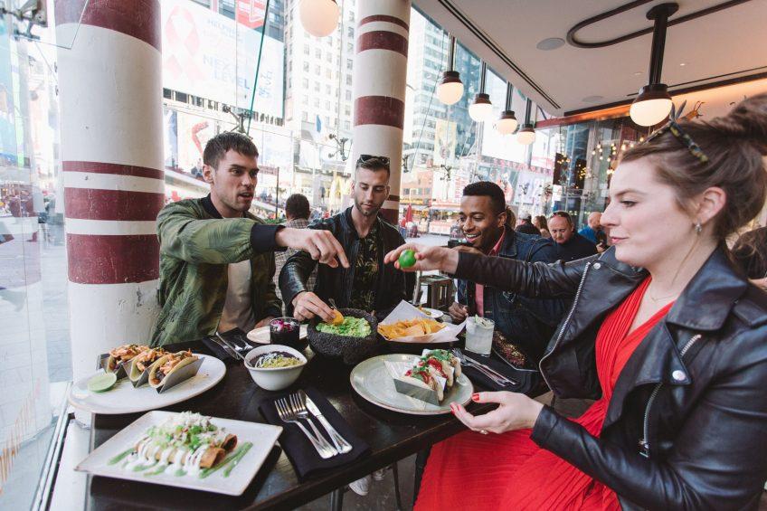 W New York Times Square Luxury Hotel - New York, NY, USA - Dos Caminos Friends