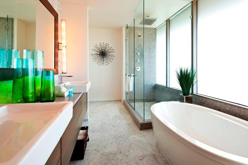 W Scottsdale Luxury Hotel - Scottsdale, AZ, USA - Extreme WOW Suite Master Bathroom