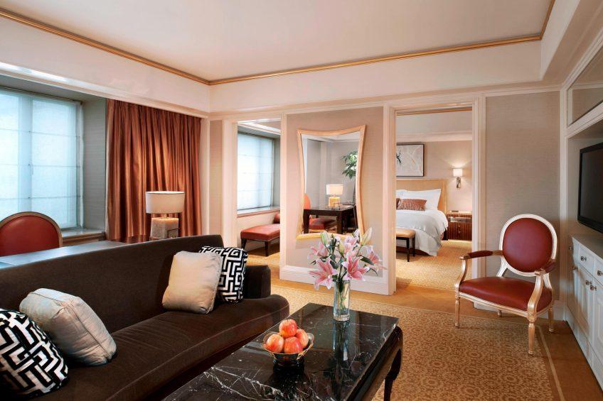 The St. Regis Beijing Luxury Hotel - Beijing, China - St.Regis Suite Living room