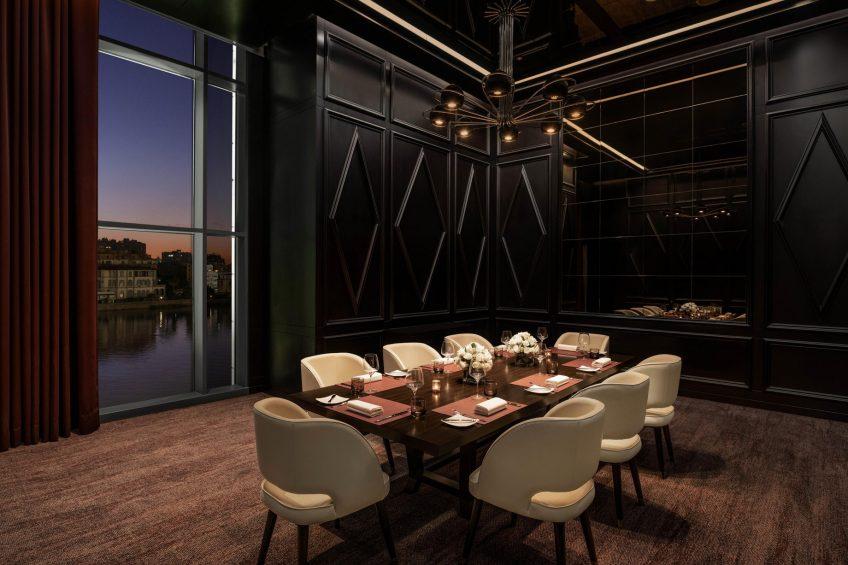The St. Regis Cairo Luxury Hotel - Cairo, Egypt - J&G Steakhouse Restaurant Private Dining Room View