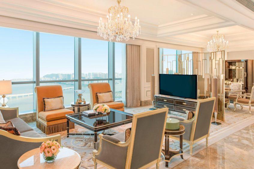 The St. Regis Zhuhai Luxury Hotel - Zhuhai, Guangdong, China - Caroline Astor Suite Living Room