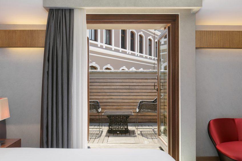 W Istanbul Luxury Hotel - Istanbul, Turkey - Fabulous Guest Room King Balcony View
