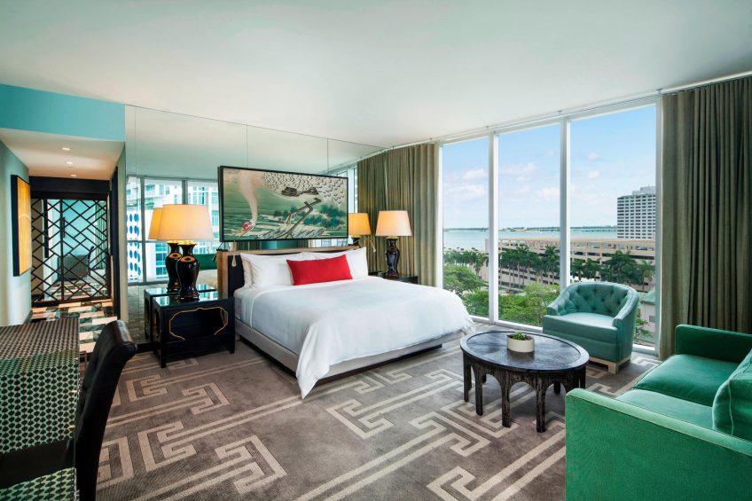 W Miami Luxury Hotel - Miami, FL, USA - Cool Corner King Guest Room