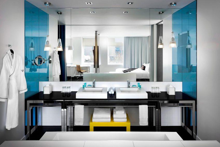 W Montreal Luxury Hotel - Montreal, Quebec, Canada - Fantastic Suite Bathroom