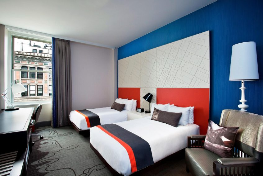 W New York Union Square Luxury Hotel - New York, NY, USA - Spectacular Guest Room