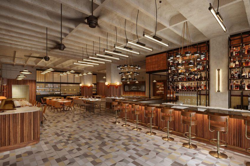 W Philadelphia Luxury Hotel - Philadelphia, PA, USA - Dolce Bar