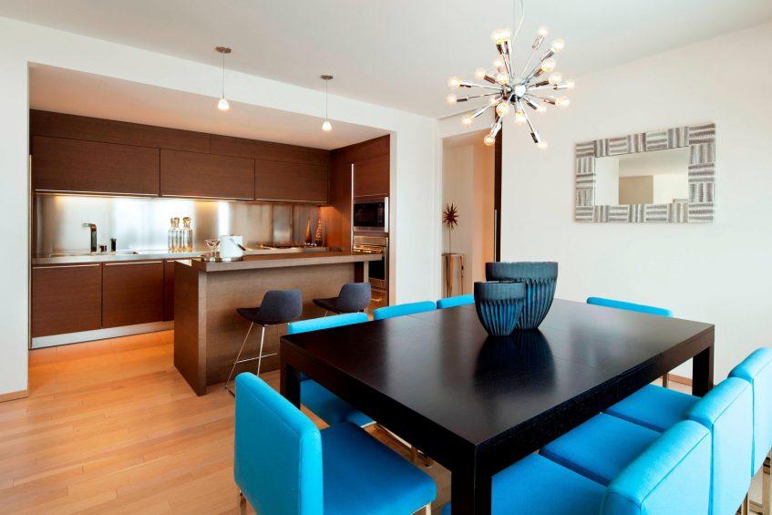 W Scottsdale Luxury Hotel - Scottsdale, AZ, USA - Extreme WOW Suite Kitchen Area