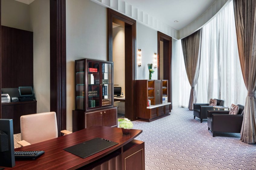 The St. Regis Chengdu Luxury Hotel - Chengdu, Sichuan, China - The Study