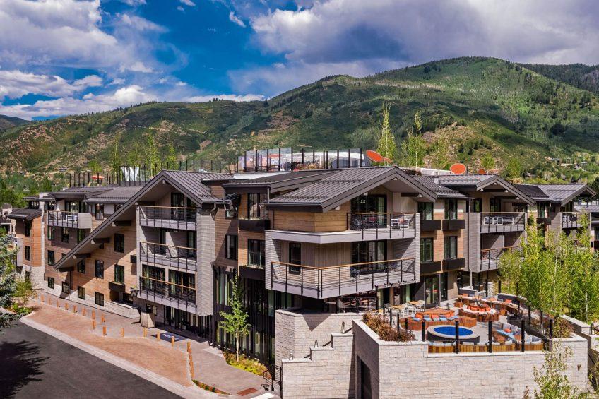 W Aspen Luxury Hotel - Aspen, CO, USA - Hotel Exterior Summer