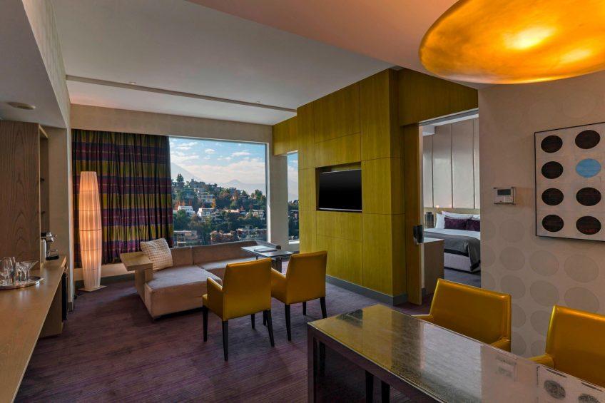 W Santiago Luxury Hotel - Santiago, Chile - Fantastic Suite Living Room