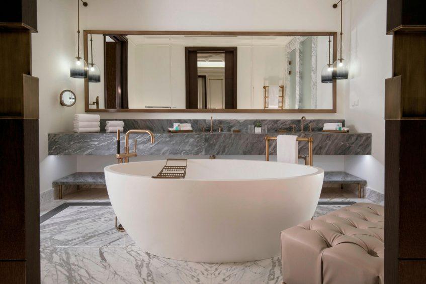 The St. Regis Astana Luxury Hotel - Astana, Kazakhstan - St. Regis Suite Bathroom