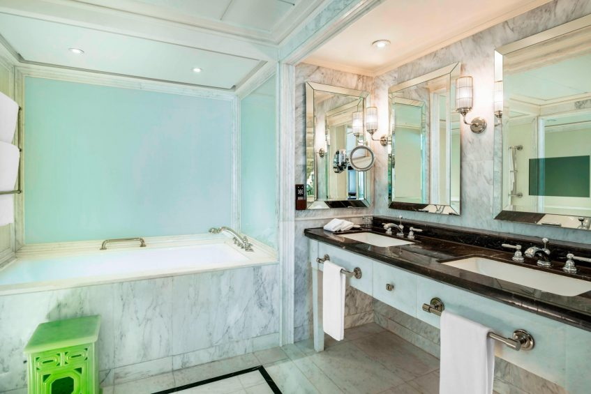 The St. Regis Beijing Luxury Hotel - Beijing, China - St. Regis Suite Bathroom Tub