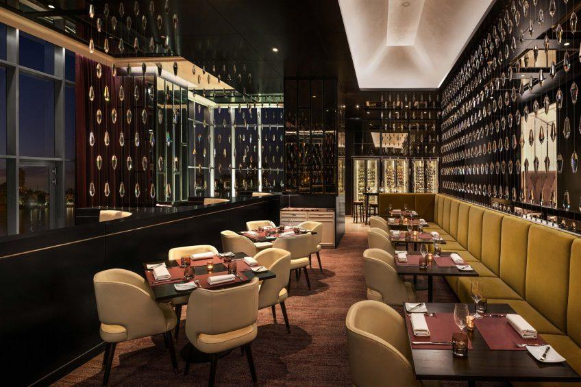 The St. Regis Cairo Luxury Hotel - Cairo, Egypt - J&G Steakhouse Restaurant