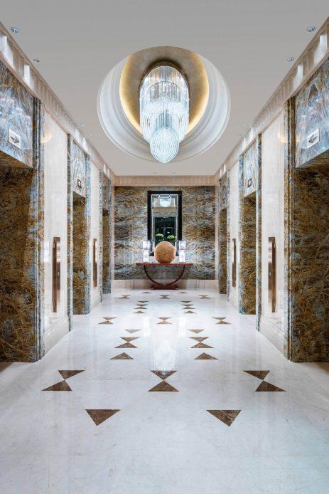 The St. Regis Chengdu Luxury Hotel - Chengdu, Sichuan, China - Elevators