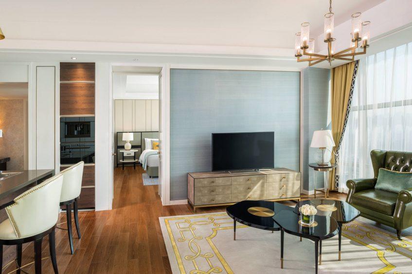 The St. Regis Shanghai Jingan Luxury Hotel - Shanghai, China - Apartment Living Room