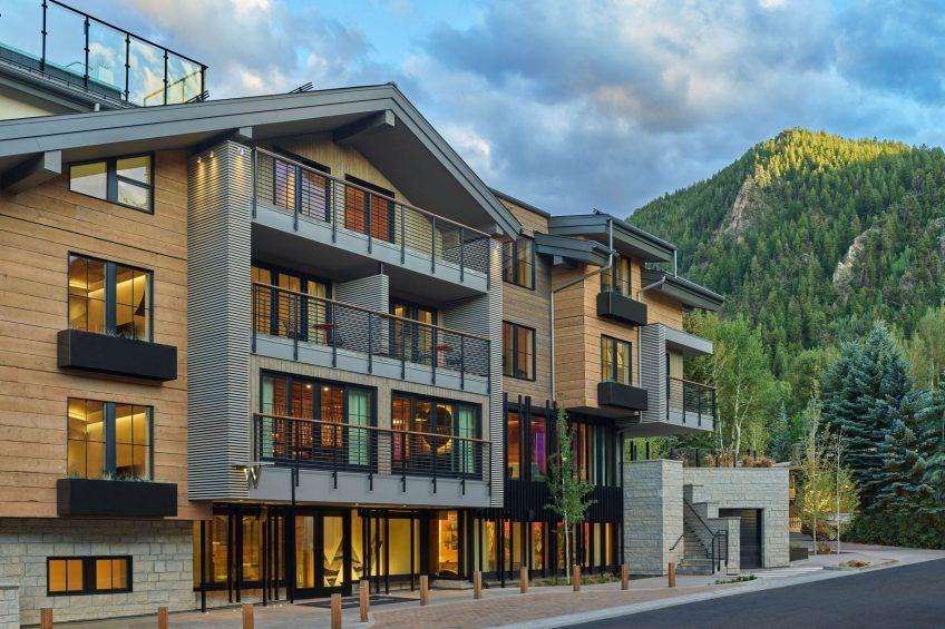 W Aspen Luxury Hotel - Aspen, CO, USA - Hotel Exterior