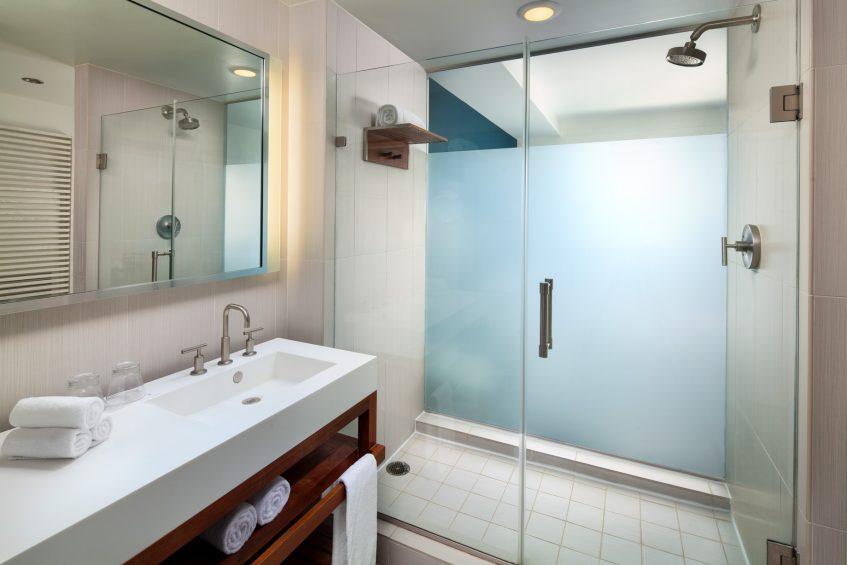 W Fort Lauderdale Luxury Hotel - Fort Lauderdale, FL, USA - Guest Bathroom
