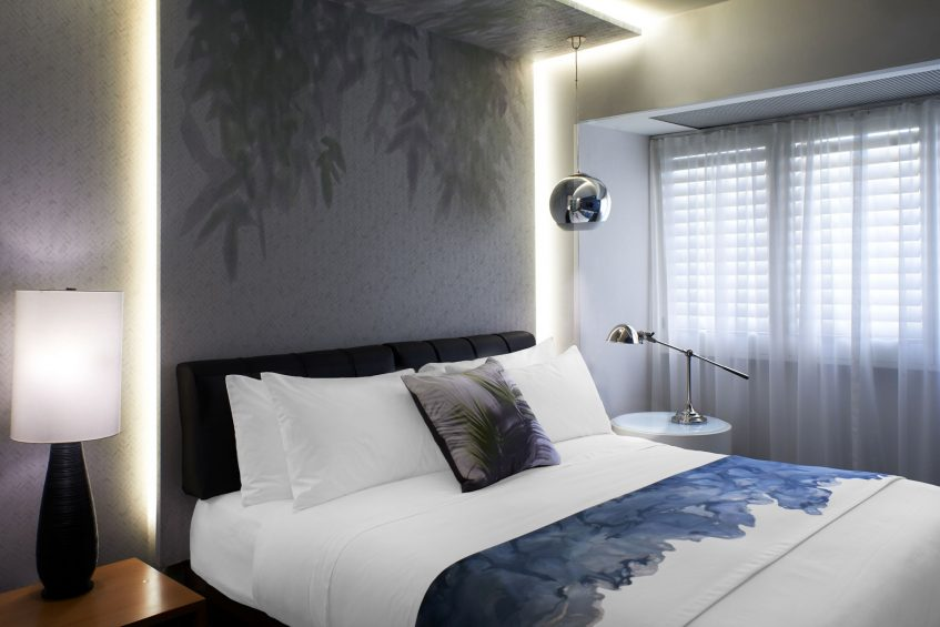 W Los Angeles West Beverly Hills Luxury Hotel - Los Angeles, CA, USA - Fabulous Suite Bedroom