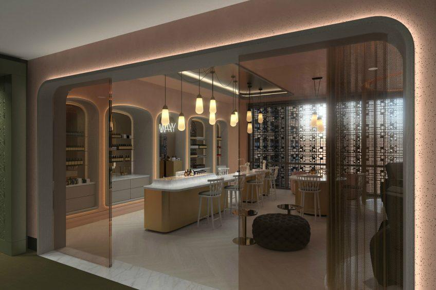 W Philadelphia Luxury Hotel - Philadelphia, PA, USA - AWAY Spa Design