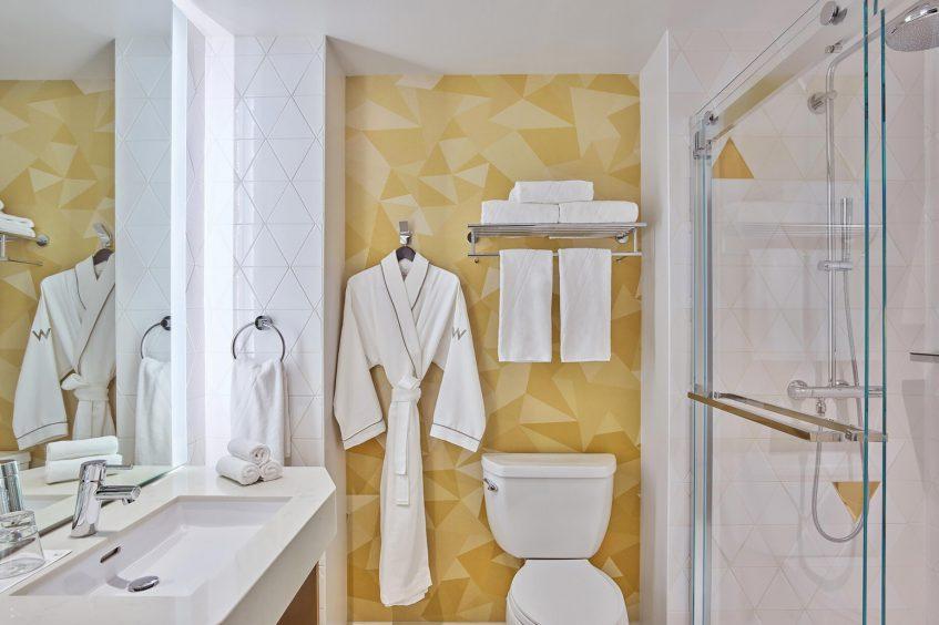 W San Francisco Luxury Hotel - San Francisco, CA, USA - Guest Bathroom