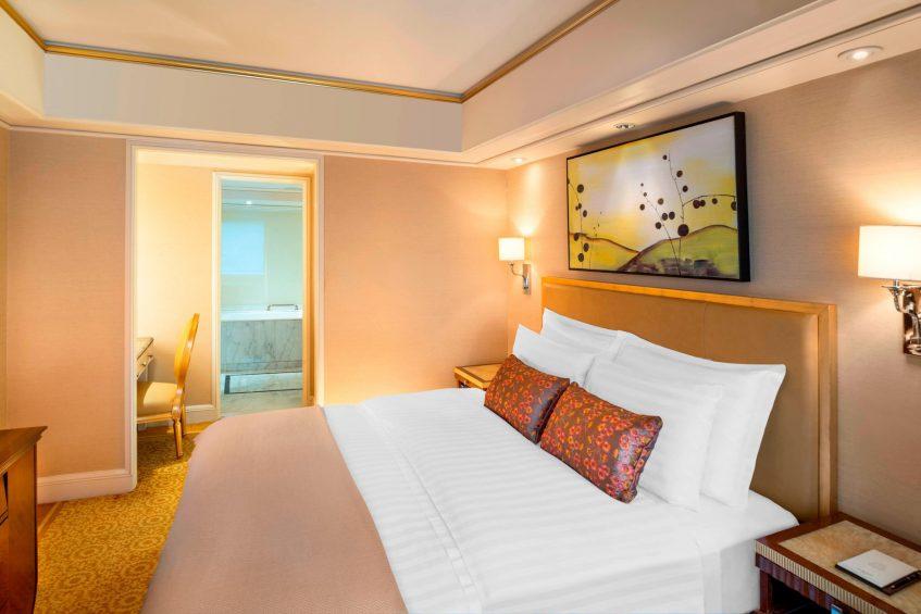 The St. Regis Beijing Luxury Hotel - Beijing, China - Statesman Suite King Bedroom
