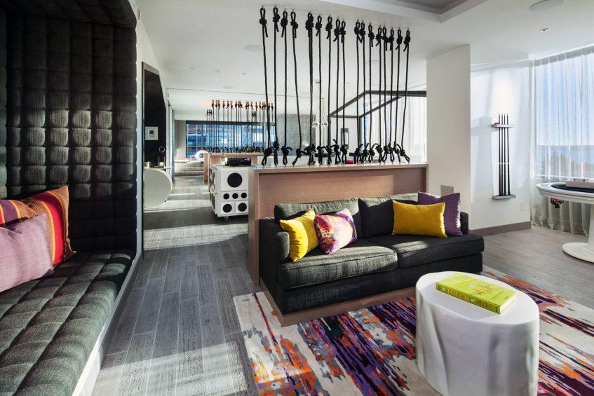 W Bellevue Luxury Hotel - Bellevue, WA, USA - E Wow Suite