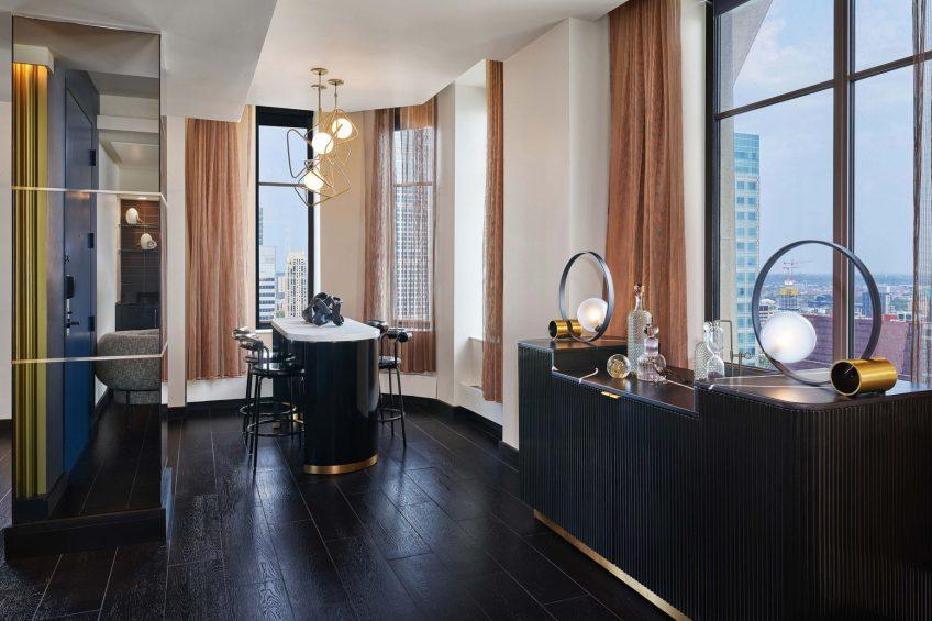 W Minneapolis The Foshay Luxury Hotel - Minneapolis, MN, USA - Wow Suite Dining Room