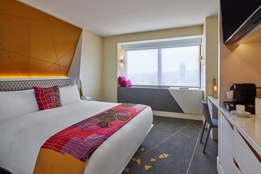W San Francisco Luxury Hotel - San Francisco, CA, USA - Wonderful Guest Room King