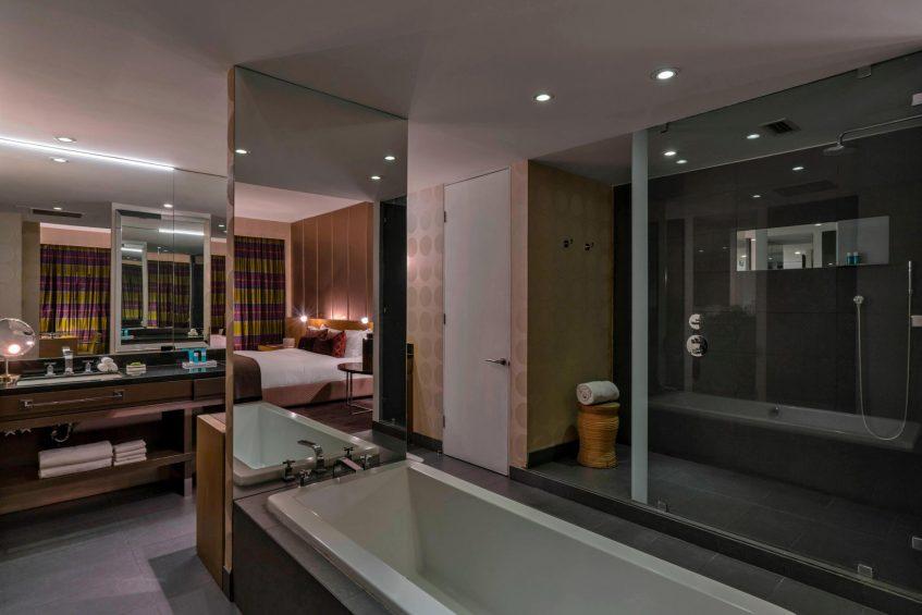W Santiago Luxury Hotel - Santiago, Chile - Fantastic Suite Bathroom