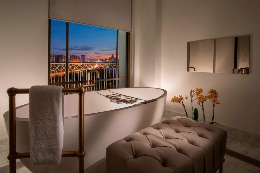 The St. Regis Astana Luxury Hotel - Astana, Kazakhstan - Royal Suite Bathroom Tub