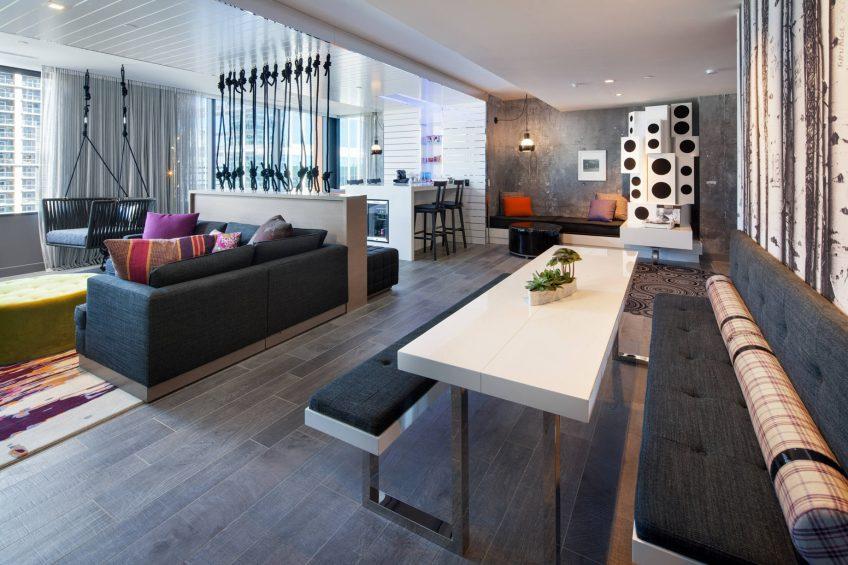 W Bellevue Luxury Hotel - Bellevue, WA, USA - Wow Suite
