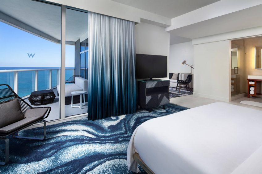 W Fort Lauderdale Luxury Hotel - Fort Lauderdale, FL, USA - Fantastic Ocean Front Suite