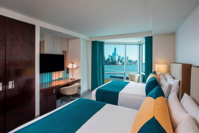 W Hoboken Luxury Hotel - Hoboken, NJ, USA - Fabulous Guest Room Queen