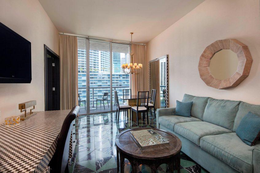 W Miami Luxury Hotel - Miami, FL, USA - Marvelous Suite Dining Area