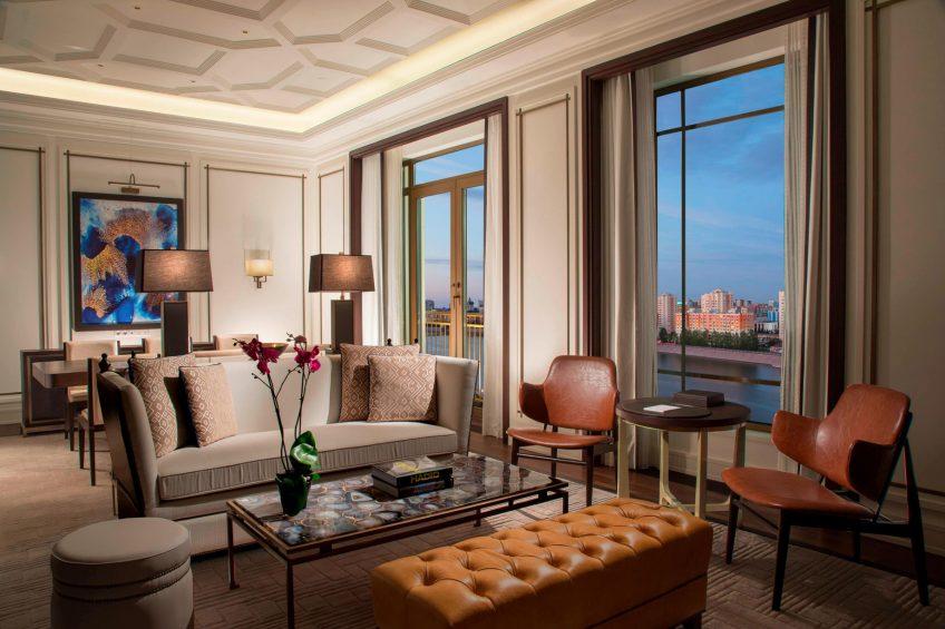 The St. Regis Astana Luxury Hotel - Astana, Kazakhstan - St. Regis Suite Living Room