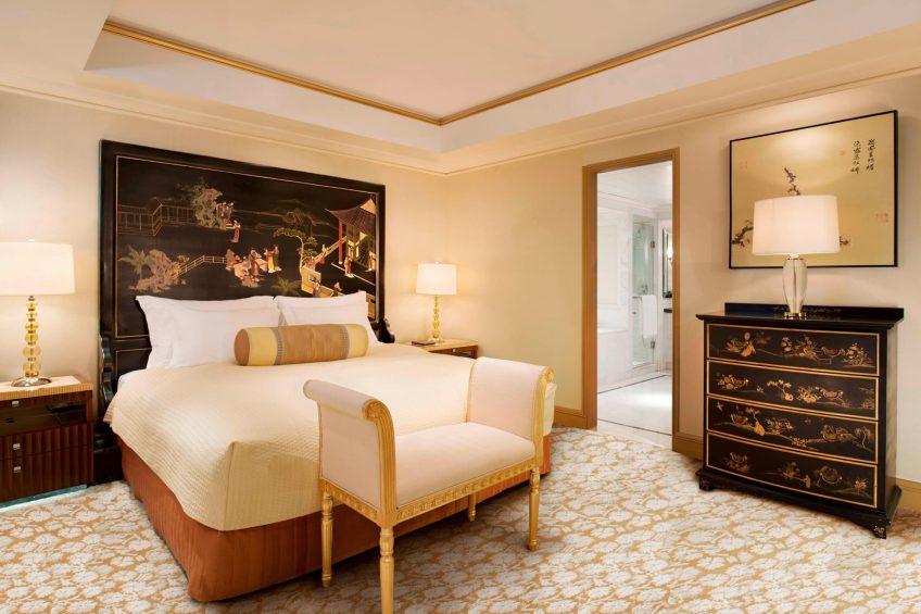 The St. Regis Beijing Luxury Hotel - Beijing, China - China Suite King Bedroom