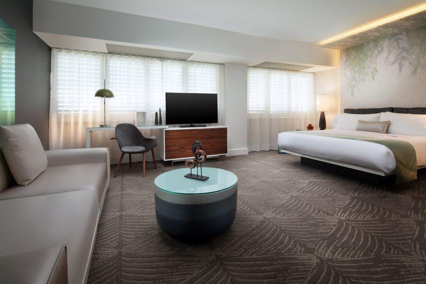 W Los Angeles West Beverly Hills Luxury Hotel - Los Angeles, CA, USA - Fantastic Studio Guest Room