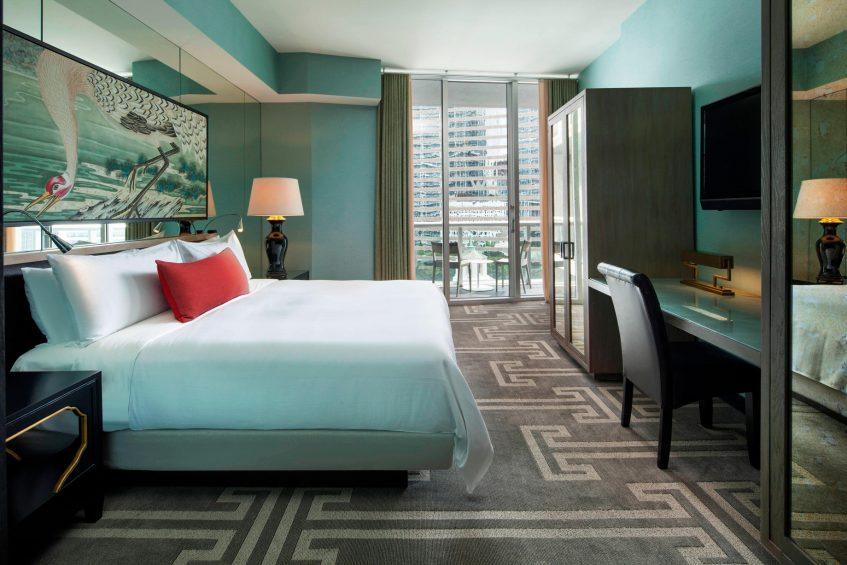 W Miami Luxury Hotel - Miami, FL, USA - Marvelous Suite King Bed
