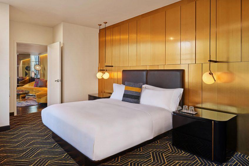 W Minneapolis The Foshay Luxury Hotel - Minneapolis, MN, USA - Wow Suite Bedroom