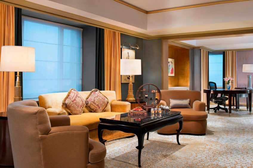 The St. Regis Beijing Luxury Hotel - Beijing, China - China Suite Living Room