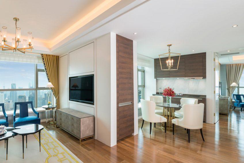 The St. Regis Shanghai Jingan Luxury Hotel - Shanghai, China - St. Regis One Bedroom Apartment