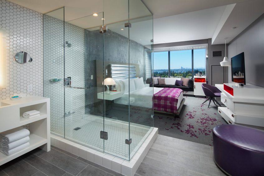 W Bellevue Luxury Hotel - Bellevue, WA, USA - Fabulous King Guest Room