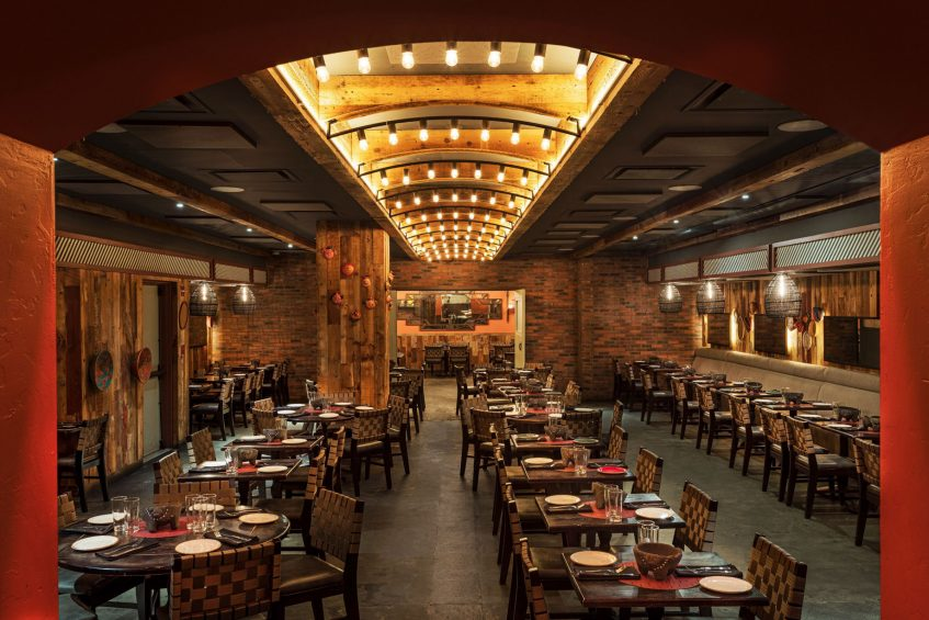 W New York Times Square Luxury Hotel - New York, NY, USA - Dos Caminos Sesting
