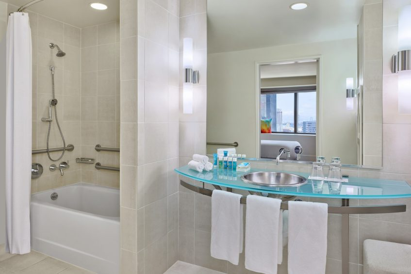 W San Francisco Luxury Hotel - San Francisco, CA, USA - Extreme WOW Suite Bathroom