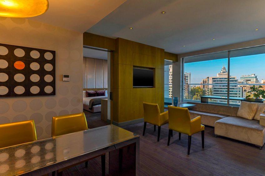 W Santiago Luxury Hotel - Santiago, Chile - Marvelous Suite Living Room