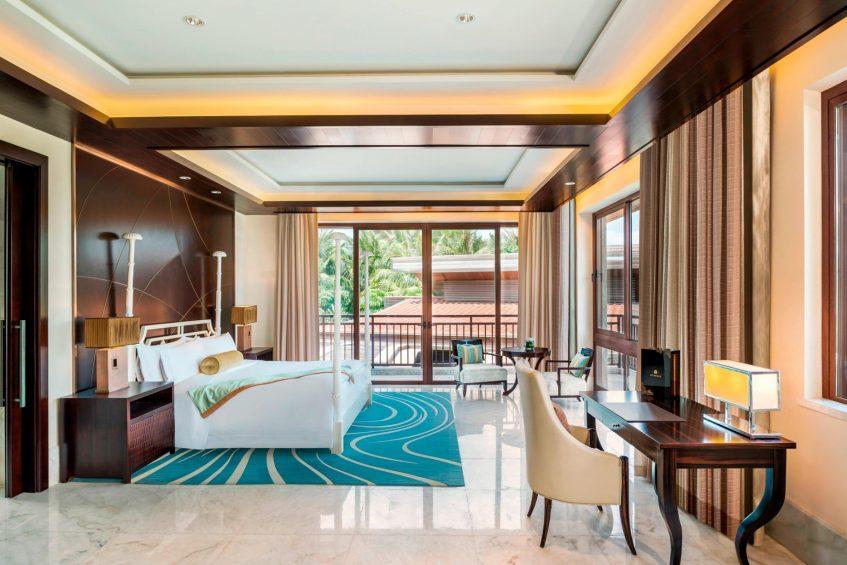 The St. Regis Sanya Yalong Bay Luxury Resort - Hainan, China - Presidential Villa Master Bedroom