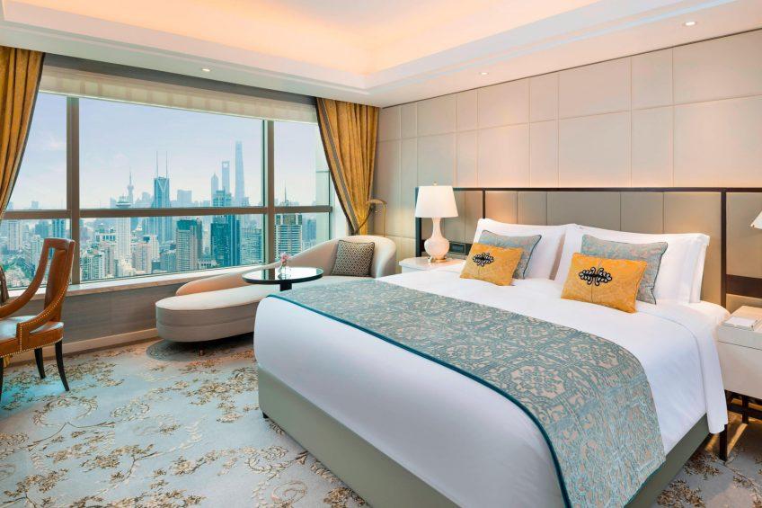The St. Regis Shanghai Jingan Luxury Hotel - Shanghai, China - Deluxe Guest Room