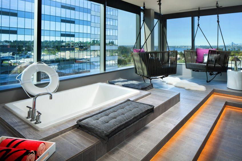 W Bellevue Luxury Hotel - Bellevue, WA, USA - E Wow Suite Detail