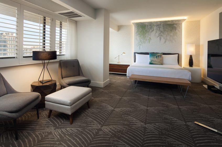 W Los Angeles West Beverly Hills Luxury Hotel - Los Angeles, CA, USA - Mega Suite King
