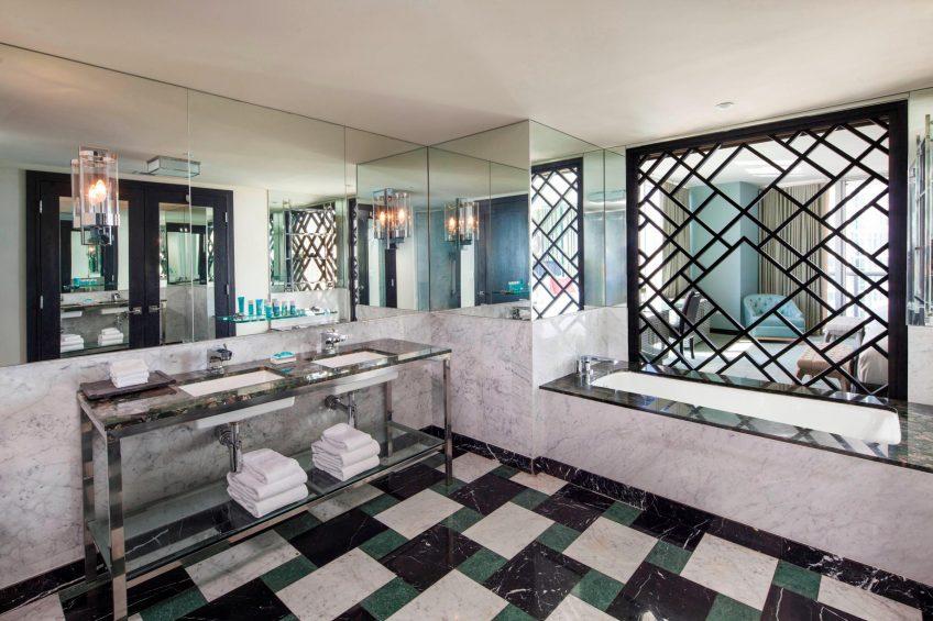 W Miami Luxury Hotel - Miami, FL, USA - Mega Guest Bathroom